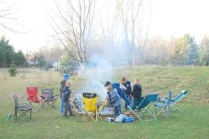 Kids & Bonfire